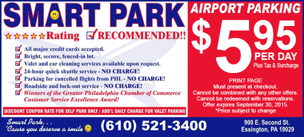 Philadelphia Airport Parking Options